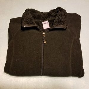 Full Zip Fleece Sweater